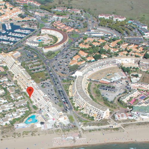 Cap d'Agde Naturist BDSM studio Port Nature map