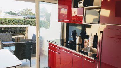 Cap d'Agde Naturist BDSM studio kitchen