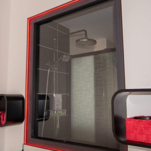 Cap d'Agde Naturist BDSM studio shower