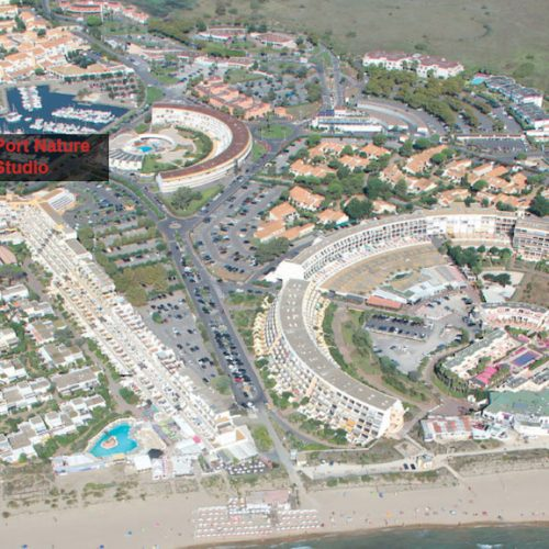 Port Nature Naturist Marina View aerial view