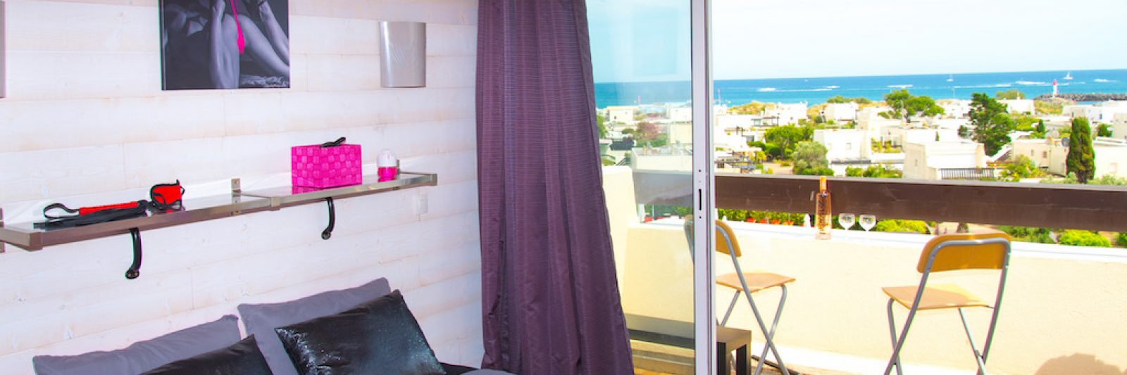 Cap d'Agde Naturist Port Nature Sea View
