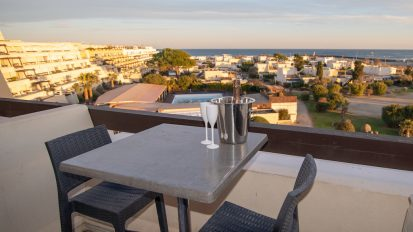 Cap d'Agde Naturist Port Nature Sea View