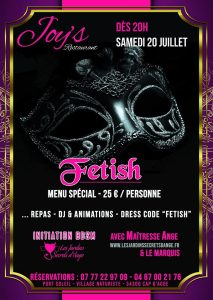 Soirée Fetish - BDSM Soft @ Resto Joy's